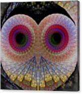 Owl Abstract Canvas Print
