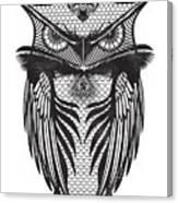 Owl Illustration Canvas Print