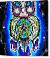 Owl No Uv Canvas Print