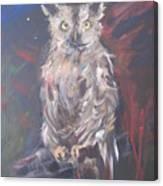 Owl Watchers Canvas Print