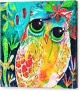 Owlette Canvas Print