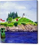 Owls Head Lighthouse Canvas Print
