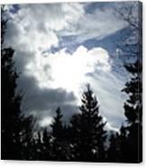 Owls Head Sky Canvas Print