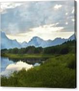 Oxbow Bend 13d Canvas Print