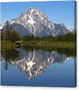 Oxbow Grand Teton Canvas Print