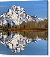 Oxbow Snake River Reflections Canvas Print