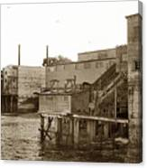 Oxnard Cannery Cannery Row 1977 Canvas Print