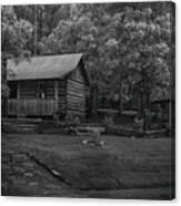 Ozark Cabin Canvas Print