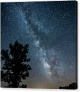 Ozarks Milky Way Canvas Print