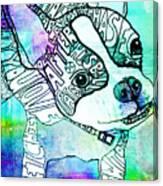 Ozzy Boy Blues Canvas Print