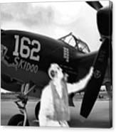 P-38 Ghost Flight Canvas Print