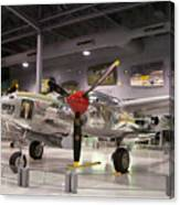 P-38 Lighting Marge Canvas Print