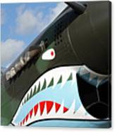 P-40 Flying Tigers Canvas Print