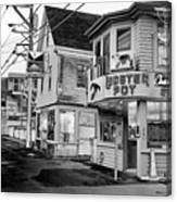 P-town Lobster Pot Canvas Print