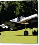 P40 Take Off Canvas Print