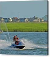 P8038801 Jet Skis Canvas Print
