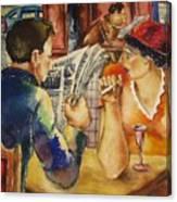 Wartime News Canvas Print