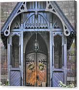 Pa Country Churches - Coleman Memorial Chapel Exterior - Near Brickerville, Lancaster County Canvas Print