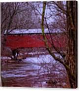 Pa Covered Bridge Canvas Print