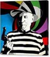 Pablo Colores Canvas Print