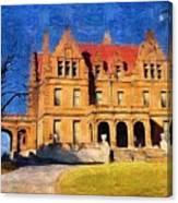 Pabst Mansion Canvas Print