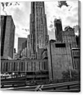 pace university campus New York City USA Canvas Print