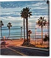 Pacific And 1st Street Canvas Print