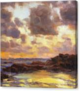 Pacific Clouds Canvas Print