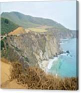 Pacific Coast Highway Dreams Canvas Print
