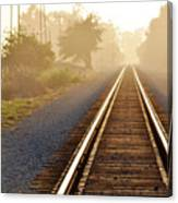 Pacific Coast Starlight Railroad Canvas Print