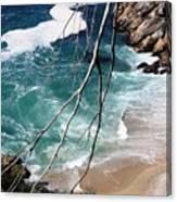 Pacific Coastline  Canvas Print