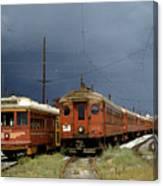 Pacific Electric Trolley, 5115, 316, Long Beach, California Canvas Print