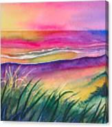 Pacific Evening Canvas Print