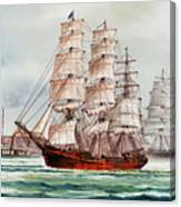 Pacific Fleet Canvas Print