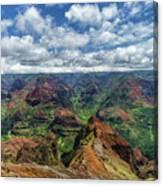 Pacific Grand Canyon Canvas Print