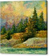 Pacific Island Canvas Print