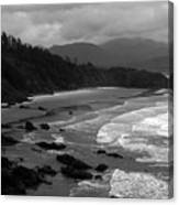 Pacific Ocean Moody Scenic Canvas Print