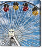 Pacific Park Ferris Wheel Canvas Print