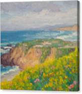 Pacific Sun Canvas Print