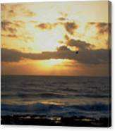 Pacific Sunset I Canvas Print