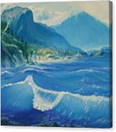 Pacific Wave Canvas Print