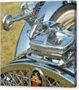 Packard Hood Ornament Canvas Print