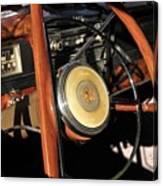 Packard Steering Wheel Canvas Print