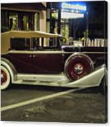 Packard Twelve Sedan Convertible Canvas Print