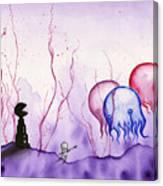 Pacman Apocalypse Canvas Print