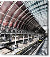 Paddington Station London Sketch Canvas Print