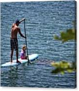 Paddle Board Canvas Print
