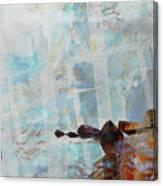 Paddleboarding Canvas Print