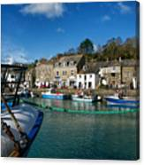 Padstow Harbour  Canvas Print
