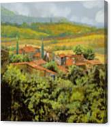 Paesaggio Toscano Canvas Print